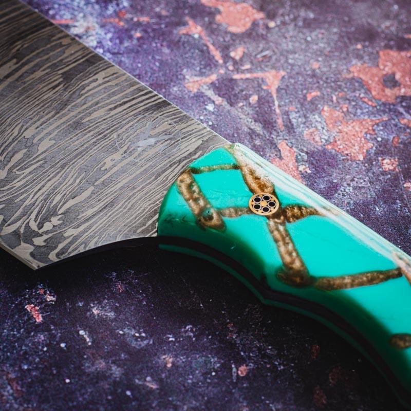 Handmade 8 Inch Cooks Knife 5K020